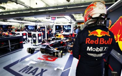 A Verstappen le FP3, ancora indietro le Ferrari
