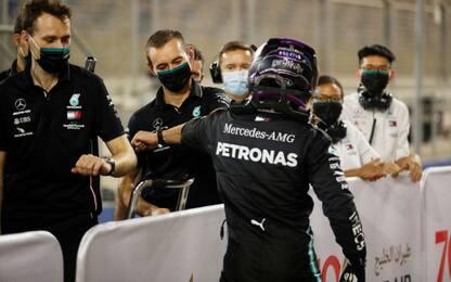 Sempre Hamilton: 98^ pole. Ferrari out nel Q3