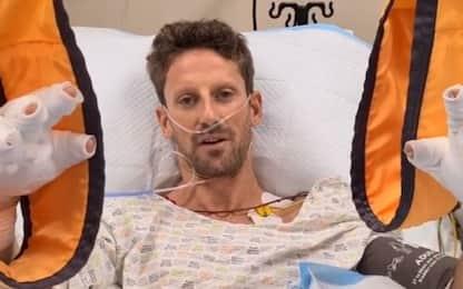 """Grosjean: """"Sto bene"""". Impatto a 221 Km/h"""