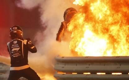 "Grosjean: ""Ho visto la morte in faccia"""