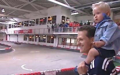 F1, i primi passi di Mick con papà Schumi. VIDEO