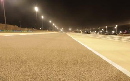 """Bahrain, secondo atto: il giro al """"quasi ovale"""""""