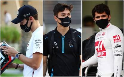 Russell, Aitken, Fittipaldi: la grande chance