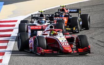 BAHRAIN INTERNATIONAL CIRCUIT, BAHRAIN - NOVEMBER 29: Mick Schumacher (DEU, PREMA RACING) at Bahrain International Circuit on Sunday November 29, 2020 in Sakhir, Bahrain. (Photo by Mark Sutton / Sutton Images)