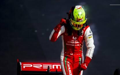 F2, Mick Schumacher campione: la stagione in FOTO