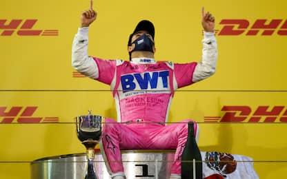 """Perez: """"Un sogno. Futuro? Voglio continuare in F1"""""""