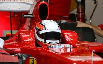 Daniel Zampieri (ITA) Ferrari F60  Formula One Young Driver Testing, 1-3 December 2009, Jerez Circuit, Spain.