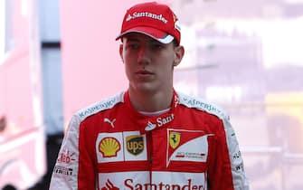 Raffaele Marciello (ITA) Ferrari Test Driver at Formula One Testing, Day One, Barcelona, Spain, 12 May 2015.