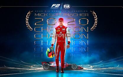 Mick Schumacher campione 2020 in F2