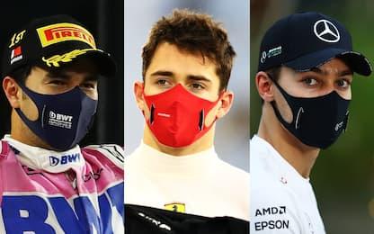 Perez, Leclerc, Russell: le 3 diverse facce del GP