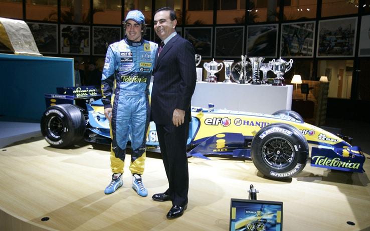 Renault F1 Team World Championship Celebration.Paris, France. 30th November 2005Photo: RenaultF1