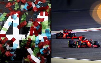 Da Lewis alla Ferrari, luci e ombre del 2020. FOTO