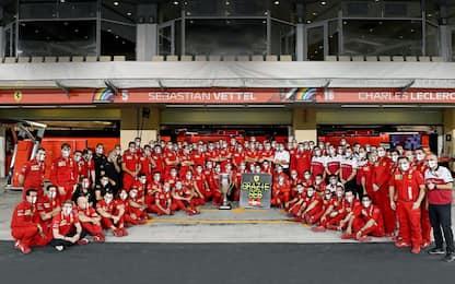 Vettel nel cuore dei tifosi Ferrari, sempre