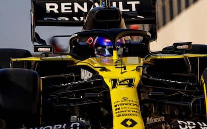 Alonso vola: miglior tempo nei test. Schumi 15°