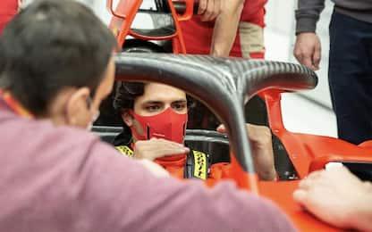 Sainz, mercoledì esordio a Fiorano su Ferrari 2018