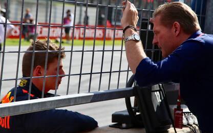"Verstappen: ""Mio padre mi lasciò in autostrada..."""