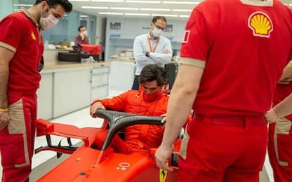 Sainz, debutto a fine gennaio sulla Ferrari 2018