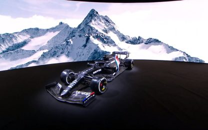 """Prima livrea """"provvisoria"""" del 2021: è l'Alpine"""