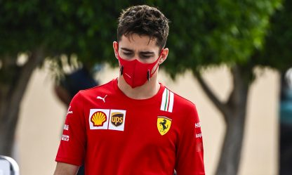 "Leclerc positivo: ""Sto bene, solo blandi sintomi"""