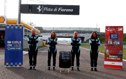 "Ferrari, terminato camp ""girls on track"" a Fiorano"