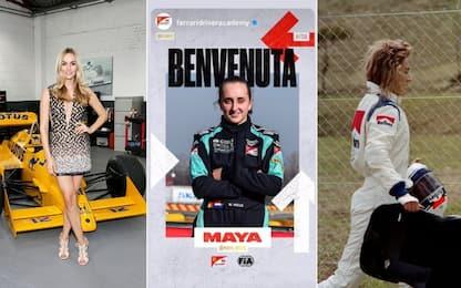 Maya Weug alla Ferrari: le donne pilota in F1