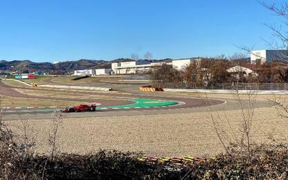 Ferrari, si comincia: Leclerc a Fiorano. FOTO