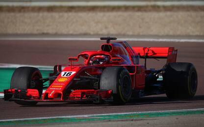 Leclerc riparte da Fiorano, 113 giri con la Rossa