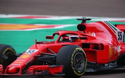 Ferrari, Sainz di nuovo in pista a Fiorano