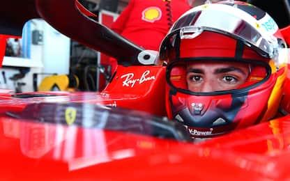 Sainz, esordio al volante della Ferrari. FOTO