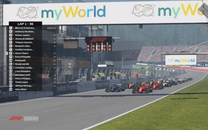 GP virtuale a Enzo Fittipaldi. Arthur Leclerc 3°