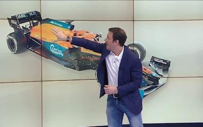 Più magra e col motore Mercedes: così è la McLaren