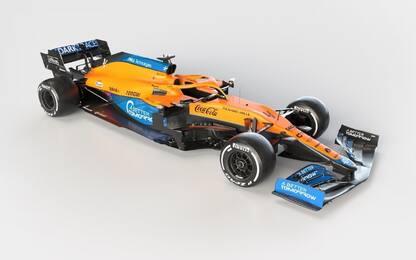 Ecco la McLaren di Norris e Ricciardo: la MCL35M
