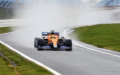 McLaren 2021 già in pista per filming day. VIDEO