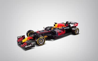 E' arrivata la Red Bull: le FOTO della RB16-B