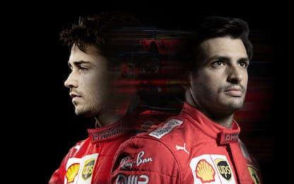 Ferrari, i piloti e Binotto in LIVE STREAMING