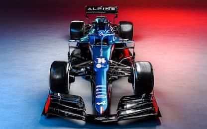 Alpine, ecco la A521 di Alonso e Ocon. FOTO
