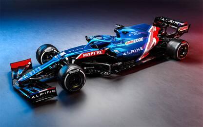 Si chiama A521: è l'Alpine di Alonso e Ocon