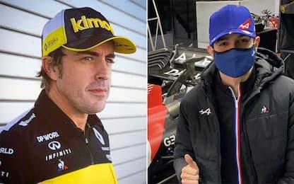 Alonso-Ocon, le carriere dei piloti della Alpine