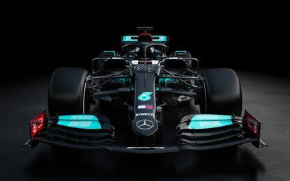 Mercedes, ecco la W12 di Hamilton e Bottas. FOTO