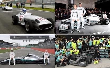 Mercedes: tutte le monoposto della storia. FOTO
