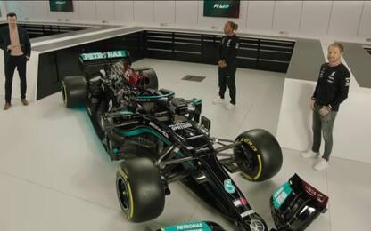 Mercedes, svelata la W12 per l'assalto al Mondiale