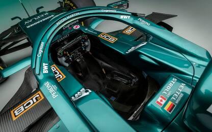 Aston Martin, così è fatta l'AMR21 di Vettel