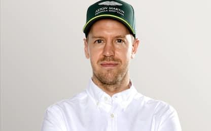 Vettel, con l'Aston inizia il dopo Ferrari. FOTO