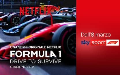 """F1: Drive to Survive"", la serie Netflix su Sky"