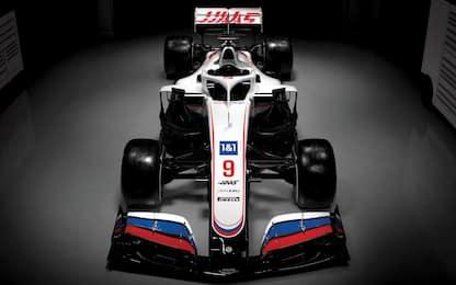 Americana e russa: così la nuova Haas VF-21. FOTO