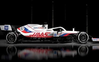 Haas, la livrea della prima F1 di Schumi Jr