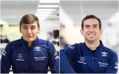 Russell-Latifi, ancora insieme: i piloti Williams