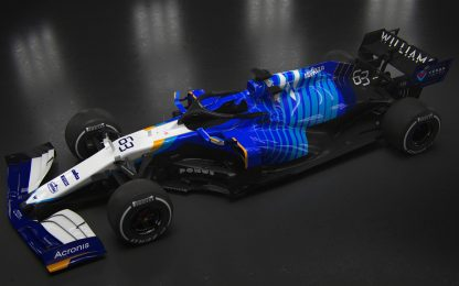 Williams, le FOTO della FW43B