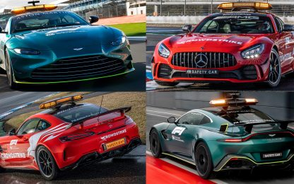 Aston Martin e Mercedes: le nuove Safety Car. FOTO