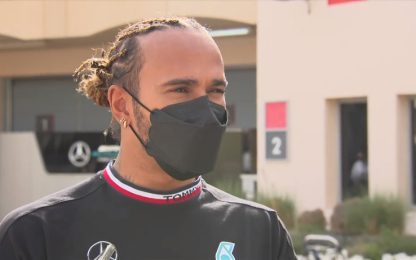 """Hamilton: """"Non è il momento di preoccuparsi"""""""